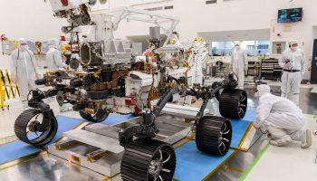 JPL NASA Mars Rover Cleanroom NASA/JPL-Caltech